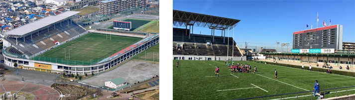 stade-Hanazono-Rugby-Stadium-coupe-du-monde-rugby-2019-gazon-pelouse
